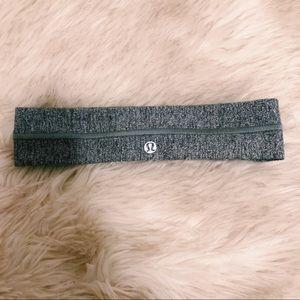 Lululemon heathered grey headband